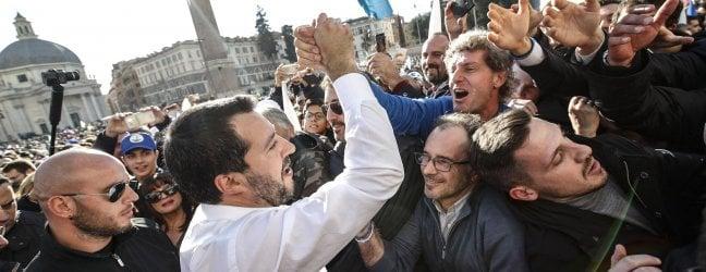 Lega in piazza, Salvini: