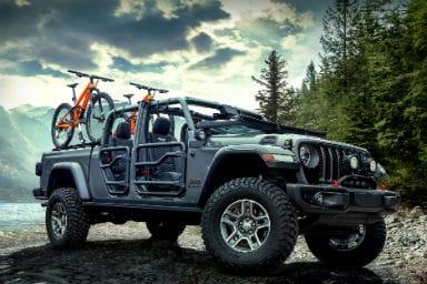 Jeep Gladiator Rubicon 2020 a tutta Mopar