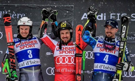 Sci, Coppa del Mondo: Hirscher e Shiffrin show a Val d'Isere e St. Moritz