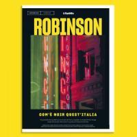 Robinson, l'Italia è noir