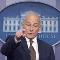 """Trump licenzia anche il capo dello staff: """"Kelly lascia alla fine dell'anno"""""""