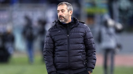 Sampdoria, Giampaolo: ''Rigore dubbio, gol Saponara giustizia divina''