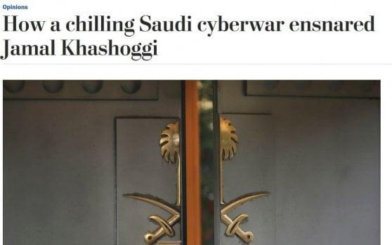 """""""L'italiana Hacking Team coinvolta nel caso Khashoggi"""". Il Wp coinvolge l'azienda già sospettata per Regeni e attaccata da Wikileaks"""