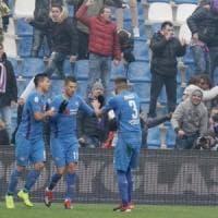 Sassuolo-Fiorentina 3-3, Mirallas al 96' salva i viola