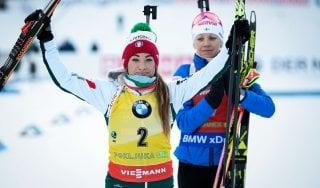Biathlon, altro podio per la Wierer: è seconda nell'inseguimento a Pokljuka
