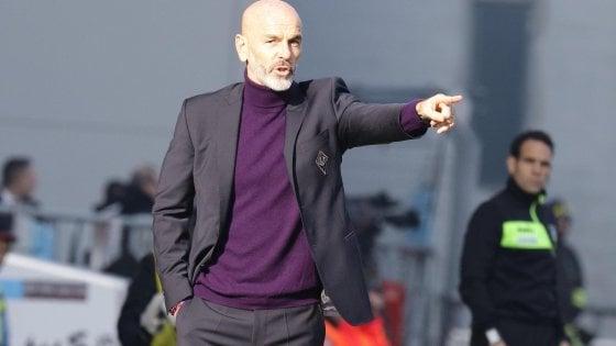 """Fiorentina, Pioli: """"Ottima reazione, dobbiamo sfruttare meglio il nostro potenziale"""""""