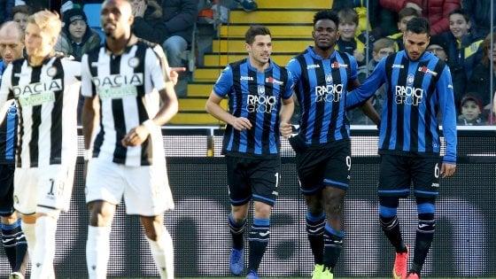 Udinese-Atalanta 1-3: Zapata rilancia i bergamaschi in zona Europa