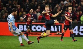 Genoa-Spal 1-1: un pari per l'esordio di Prandelli