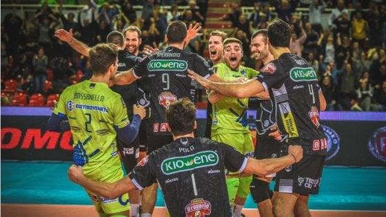Volley, Superlega: Padova stende Perugia, Civitanova crolla a Milano