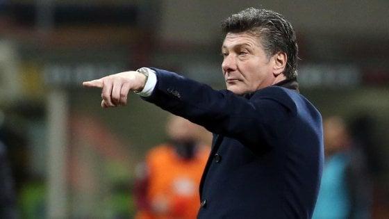 """Torino, Mazzarri: """"Creiamo tanto, ma non la mettiamo dentro"""""""