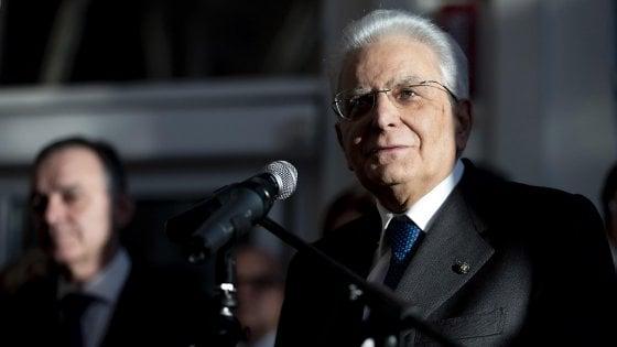 """Mattarella: """"Promozione dei diritti umani imperativo etico. Italia in prima linea"""""""
