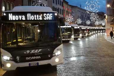 Il trasporto pubblico di Udine? Punta sul metano