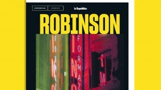 Robinson, com'è noir l'Italia