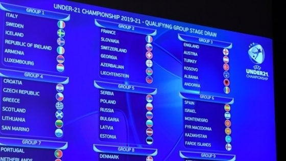 Mondiali Calcio 2020 Calendario.Under 21 Qualificazioni Europei 2021 L Italia Pesca La