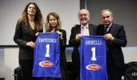Petrucci: ''Sacchetti ct a vita, nostri Nba ai Mondiali''