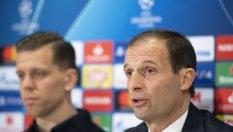 """Champions, Allegri: """"Niente scuse, per la Juventus primo posto fondamentale"""""""