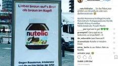 Germania, dopo Coca Cola anche Nutella: finti manifesti contro l'ultradestra