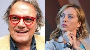 """Toscani: """"Chiedo scusa a Giorgia Meloni. Basta insulti ai politici"""""""