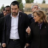 """Israele, Salvini fa il ministro dello Sviluppo: """"Chiederò di investire nel vostro..."""