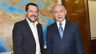 """Salvini promuove il gasdotto Israele-Italia. Netanyahu: """"Unifil impedisca azioni di Hezbollah"""""""