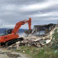 Reggio Calabria, abbattuto il locale simbolo del potere mafioso