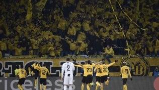 Juve ko ma prima nel girone.Lo Young Boys si impone 2-1