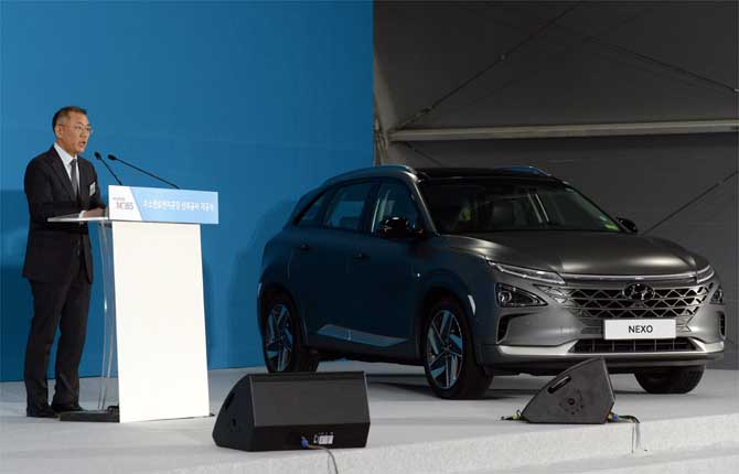 Hyundai Motor Group punta sull'idrogeno
