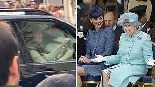 """Kate al volante: """"Un tè con la Regina per i dissidi con Meghan?"""""""