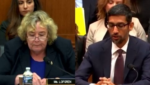 La deputata al Ceo di Google: Perché se cerco la parola 'idiot' compare Trump?