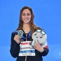 Mondiali nuoto vasca corta, Simona Quadarella argento negli 800 stile libero