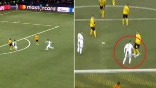Ronaldo rovina gol di Dybala:il saltello è incomprensibile