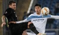 Lazio, ko che non fa male Eintracht in rimonta: 1-2