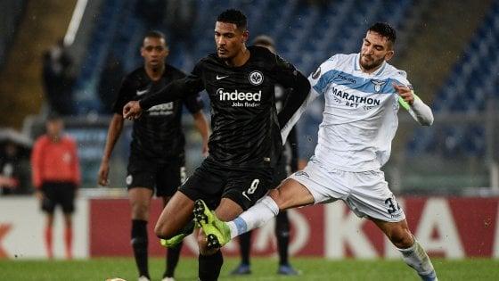 Lazio-Eintracht Francoforte 1-2: sconfitta indolore per i biancocelesti