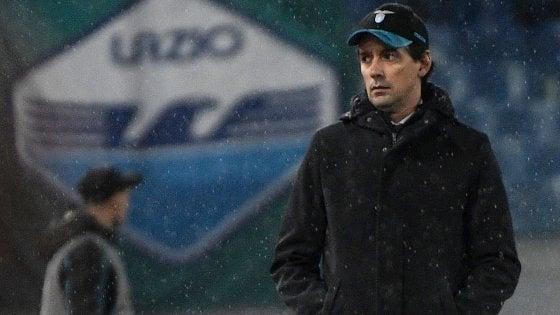 """Lazio, Inzaghi: """"Peccato per la sconfitta, ma il secondo gol era irregolare"""""""