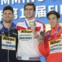Nuoto: mondiali vc: Orsi argento nei 100 misti, staffetta 4x50 sl di bronzo