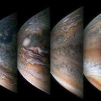 Juno, a metà della sua avventura, ci regala nuove foto delle tempeste di Giove