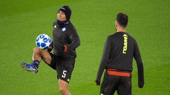 """Napoli, Allan guarda avanti: """"Puntiamo all'Europa League e al campionato"""""""
