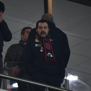 Il ministro dell'Interno, Matteo Salvini