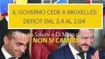 """Rep Tv Quando i vice premier ripetevano """"non si cambia e non molleremo"""" a cura di G. SANTERINI"""