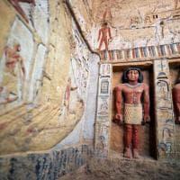 Nella tomba del sacerdote: i tesori di Saqqara