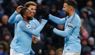 Premier League: il Manchester City batte l'Everton e torna in vetta
