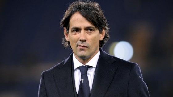 """Lazio, Inzaghi: """"Gasperini è uno dei migliori allenatori in Italia"""""""