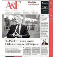 Pirelli, botta e risposta Rossi-Tronchetti sul rapporto tra Italia e industria