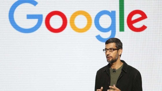"Il ceo di Google, Sundar Pichai: ""Intelligenza artifici"