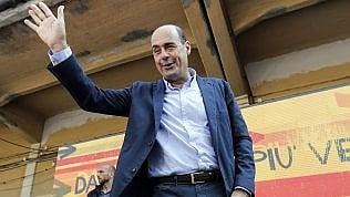 """Pd, Zingaretti: """"Fake news un ritorno Ds. No aiuti ai Cinquestelle se c'è la crisi di governo"""""""