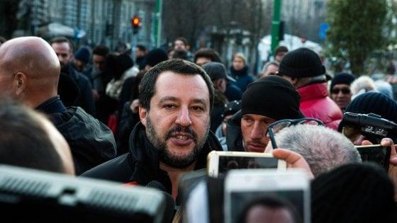 """Scuola, Salvini: """"Sì alle autogestioni, basta che non ci siano vandalismi"""""""
