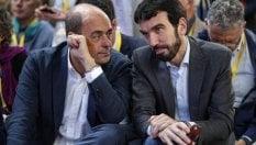"""Zingaretti: """"Fake news un ritorno Ds. No aiuti ai 5S se c'è la crisi"""". E attacca Martina"""