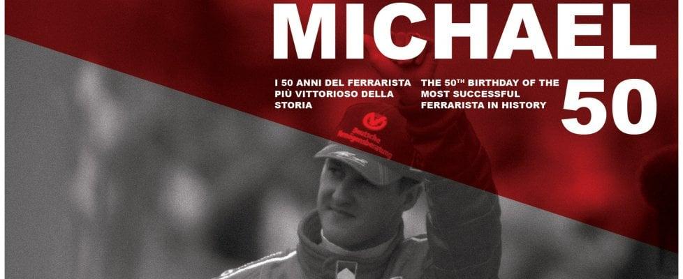 Risultati immagini per Schumacher compie 50 anni.