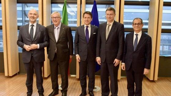 Manovra, per ora niente accordo Ue-Italia: la trattativa continua