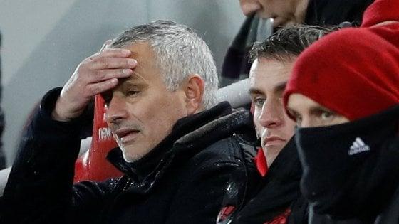 Inghilterra, il Manchester United esonera Mourinho